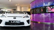 Lexus LFA at Park Lane, London