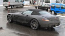 2012 Mercedes SLS AMG Roadster spied yet again