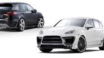 LUMMA reveals CLR 558 GT in the metal - based on Porsche Cayenne II