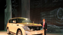 All New 2010 Nissan Patrol Revealed [Video]