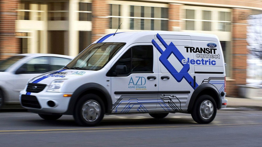 Ford Transit Connect Electric Vehicle Production Starts Late 2010 [Video]