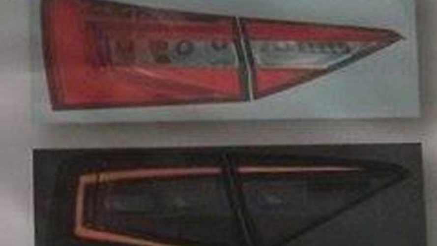 Skoda Superb headlight and taillight design leaks out