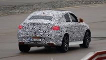 2016 Mercedes-Benz GLE 63 AMG Coupe spy photo