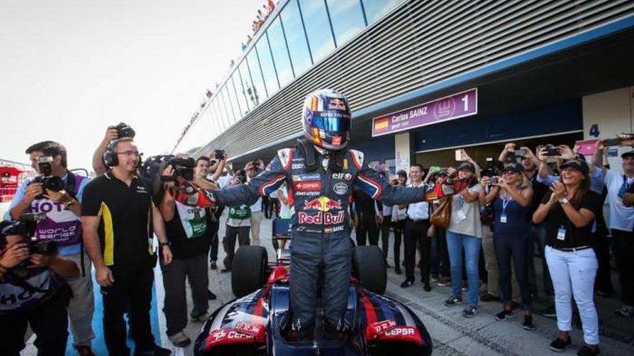Sainz says he 'deserves' Toro Rosso debut