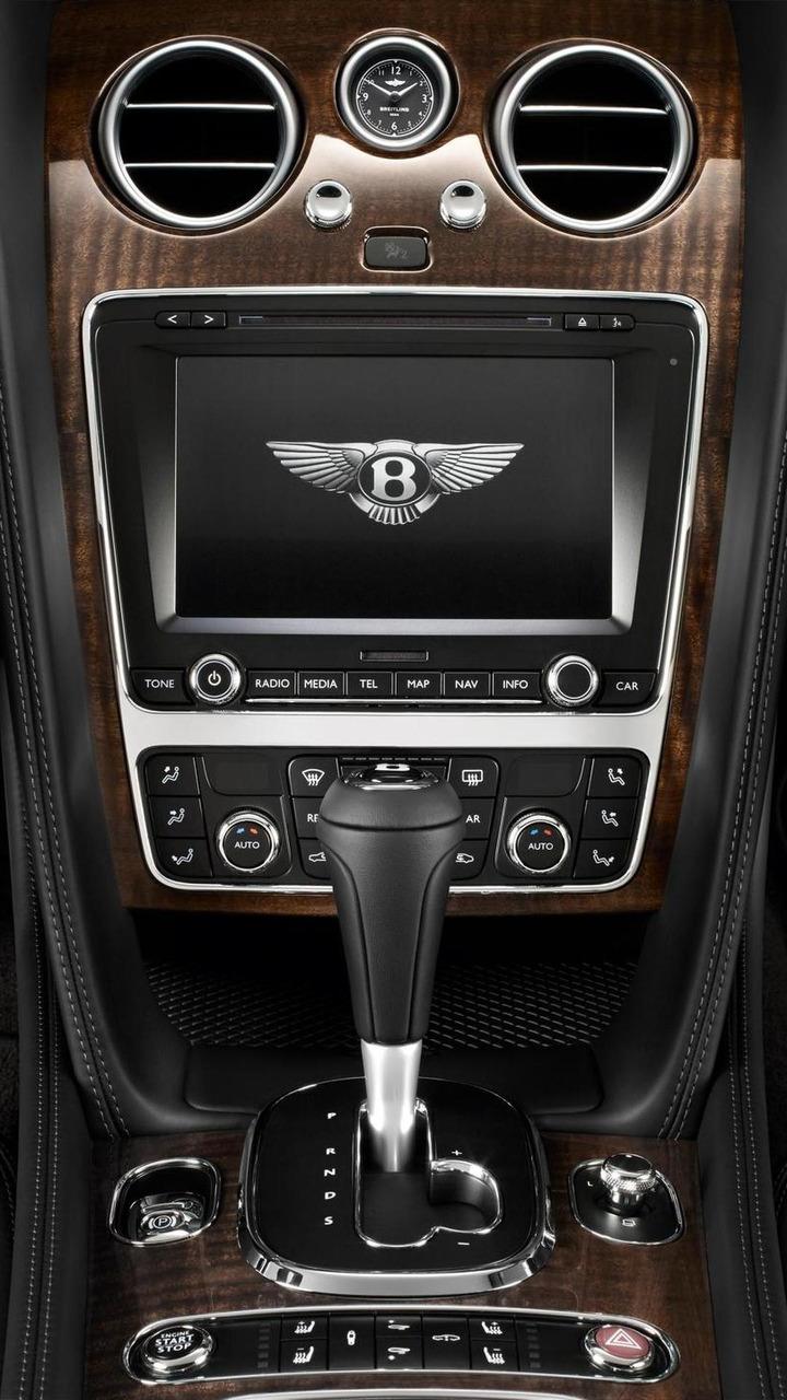 Bentley Continental GT Centre Console