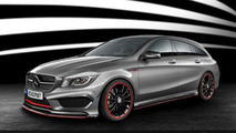 RevoZport tunes the Mercedes CLA Shooting Brake to 450 PS