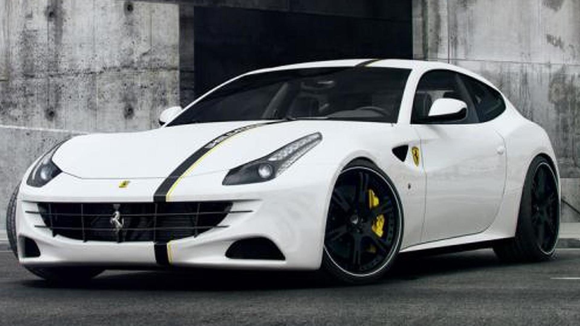 Wheelsandmore works on the Ferrari FF