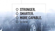2014 Chevrolet Silverado teased yet again, will debut on Thursday