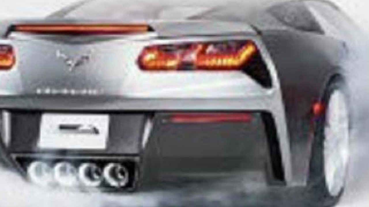 2014 Chevrolet Corvette leaked photo 11.1.2013