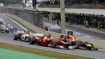 2012 Brazilian Grand Prix season finale [RESULTS]