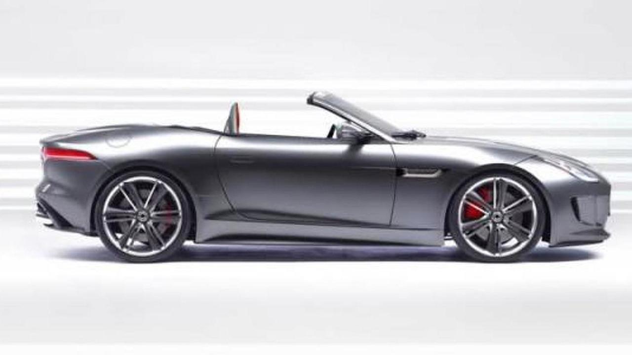 2014 Jaguar F-Type artist rendering