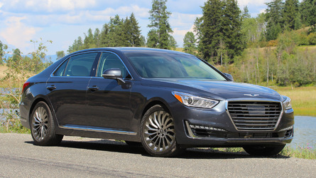 2017 Genesis G90 priced from $68,100