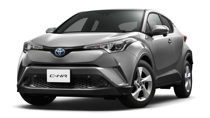 Toyota C-HR specs for Japanese market released
