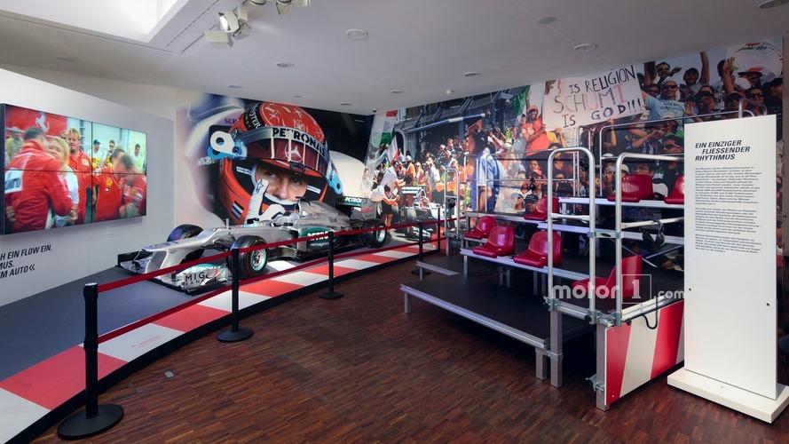 La collection de Schumacher devient une exposition permanente