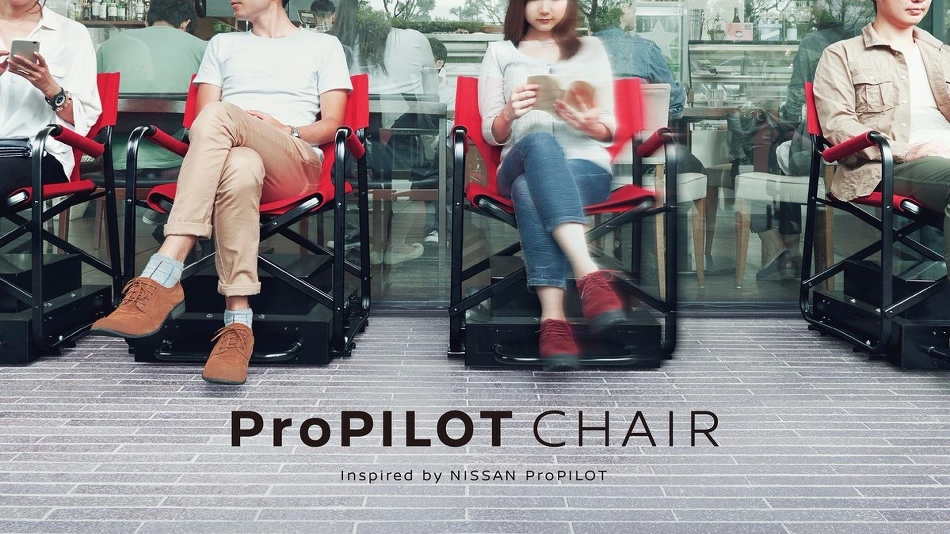 Nissan autonomous queuing chair is no joke