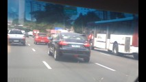 Leitor flagra JAC J5 Sedan rodando em SP
