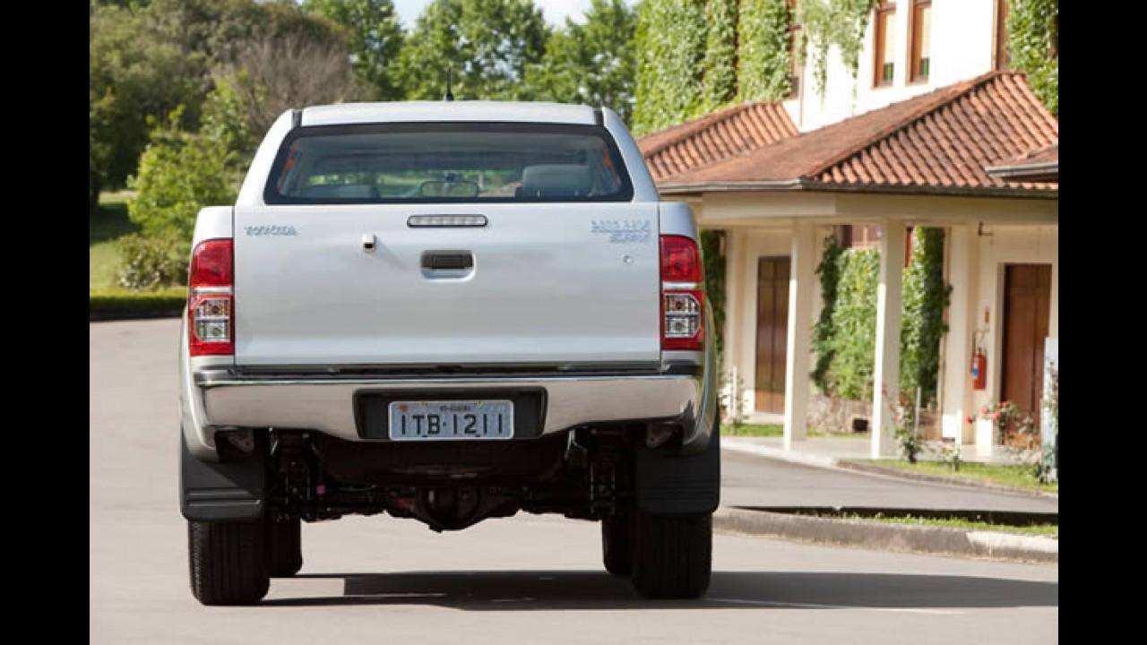 Nova Hilux e Novo SW4 2012 chegam com novo visual e motor 2.7 Flex no Brasil - Veja os preços