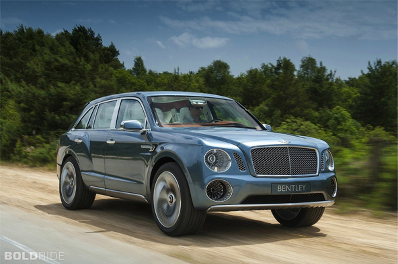Bentley EXP 9 F Looking To Gain a Bit of Swagger With a New Photoshoot