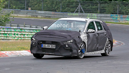 Hyundai i30 N Spy Photos from Nurburgring