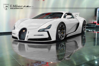 Bugatti EB11 Concept Gets an Evolutionary Look