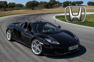 Could Honda Power an Entry-Level McLaren?