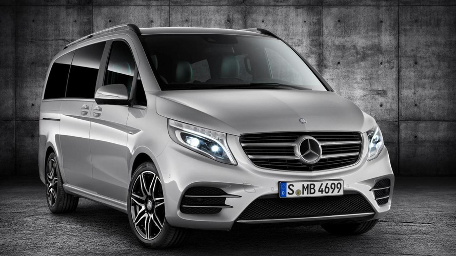 Mercedes V-Class AMG Line revealed prior to 2015 IAA debut