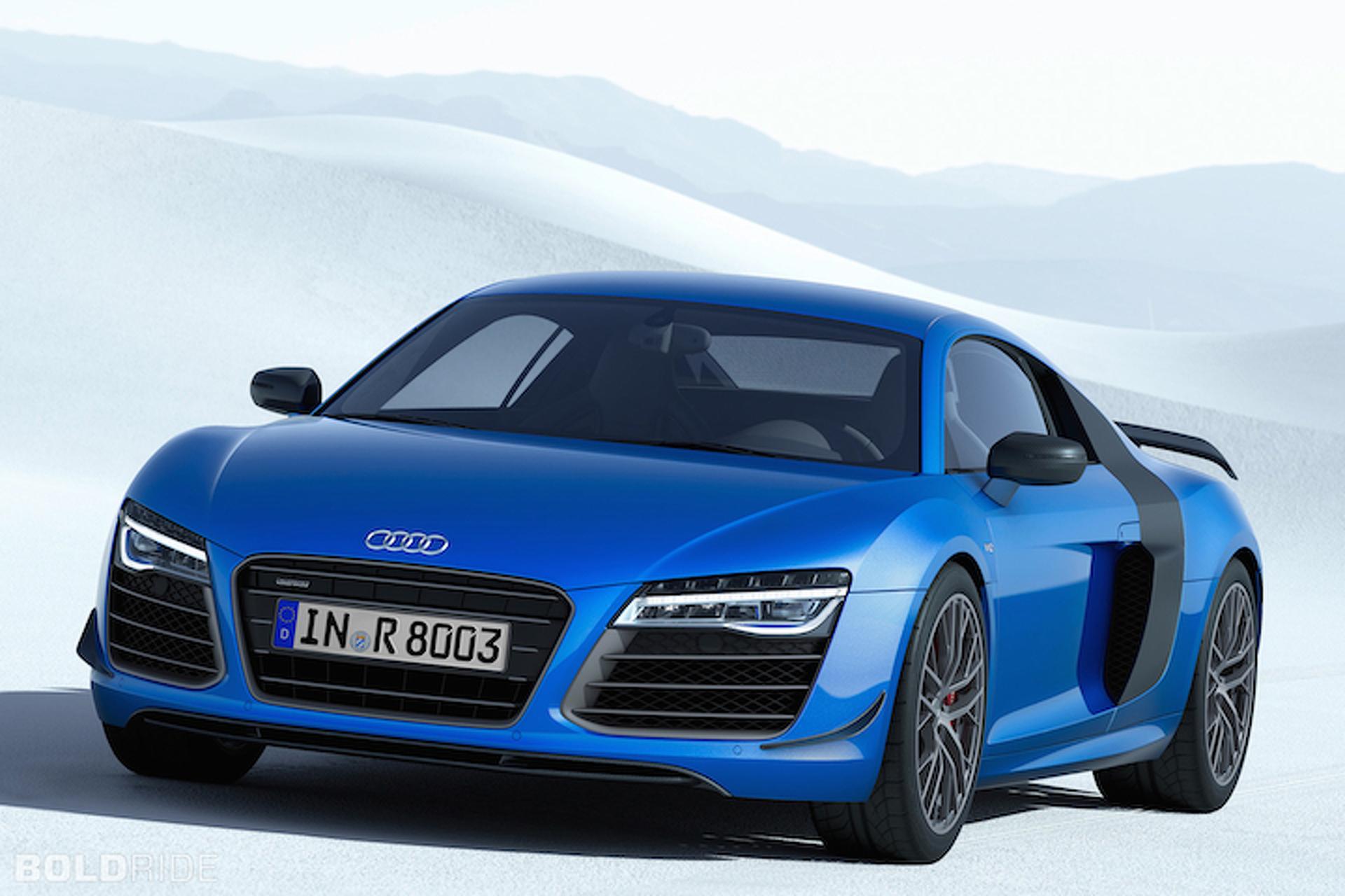 Audi R8 LMX Features World's First Laser Headlights