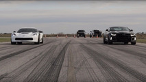 Which is faster - 2017 Camaro ZL1 or Corvette Z06?