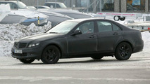 2008 Mercedes C-Class sedan spy photo