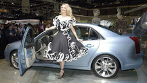 Cadillac BLS & fashion at the Geneva Motorshow