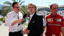 Luca di Montezemolo (ITA) with James Allen (GBR), Journalist and BBC Radio 5 Live Commentator, , Bahrain Grand Prix, Sakhir / XPB