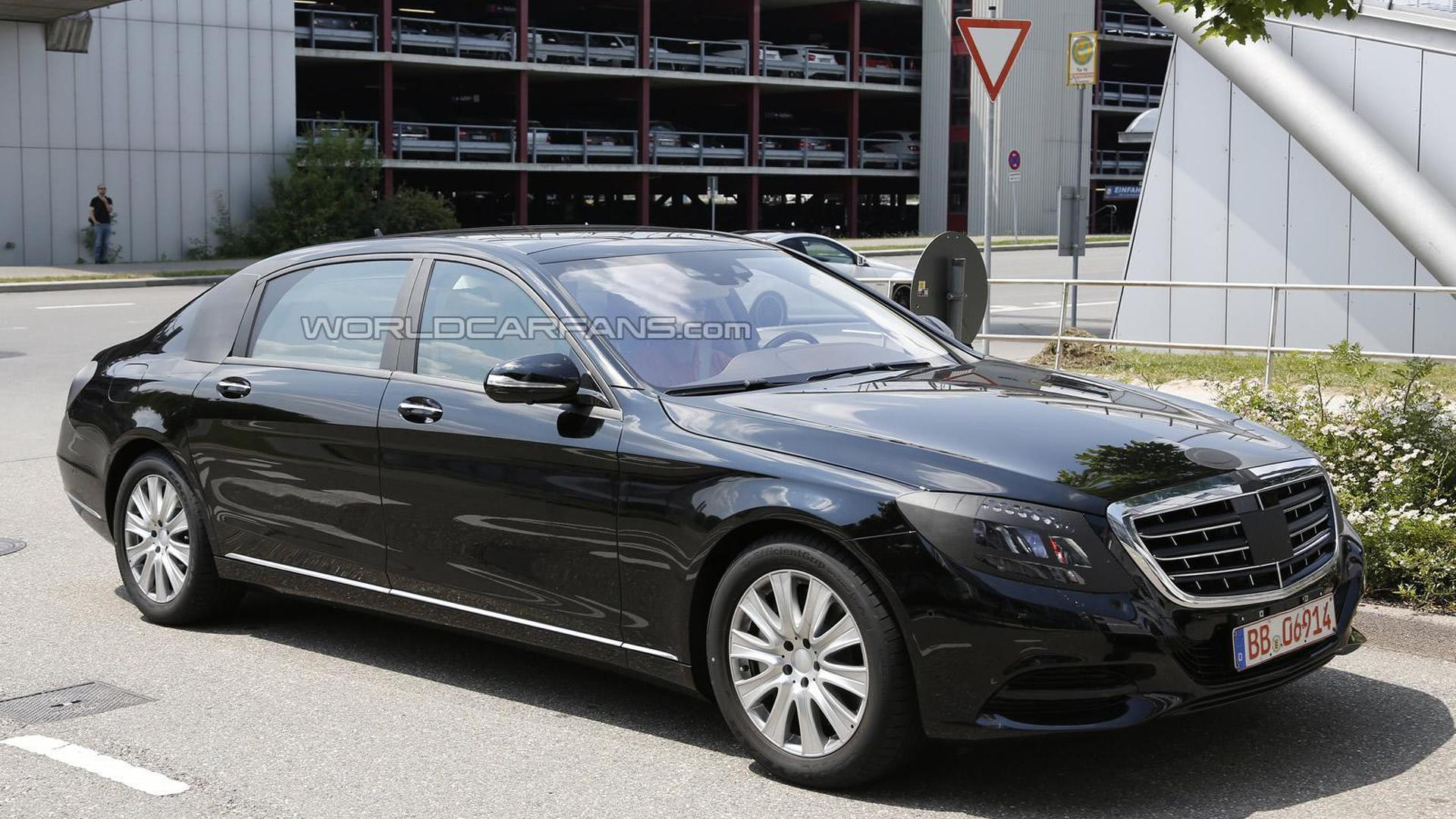 2014 Mercedes-Benz S-Class Pullman to have 2+2+2 seating - report