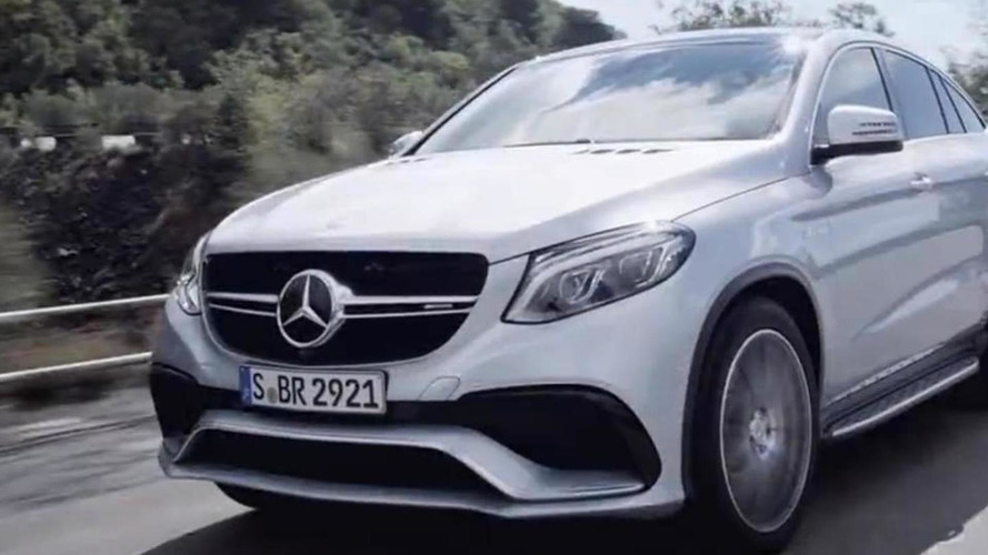 Mercedes-AMG GLE 63 Coupe teased ahead of Detroit reveal [video]