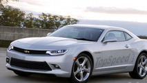 2016 Chevrolet Camaro gets rendered