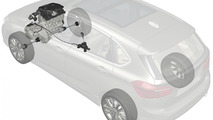 BMW 2-series Active Tourer, front wheel drive system