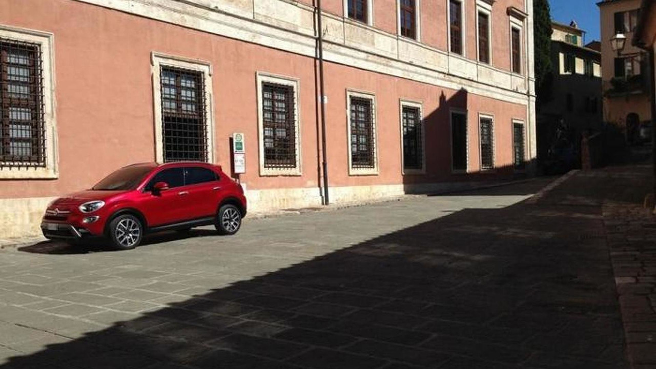 Fiat 500X leaked official photo