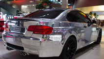 BMW M3 Coupé Chrome Bullet 10.10.2011