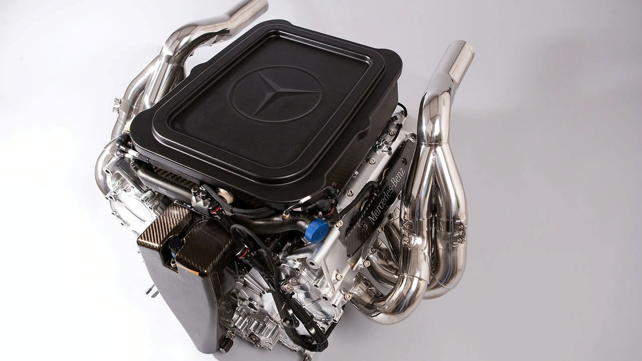 Mercedes-Benz Formula 1 engine FO 108W, 1280