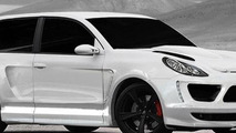 Porsche Cayenne Turbo two-door by Merdad