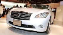 Nissan Fuga live at Tokyo Motor Show