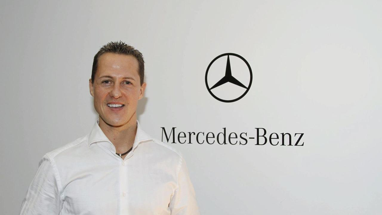 Michael Schumacher joins MERCEDES GP PETRONAS, Brackley, 23.12.2009