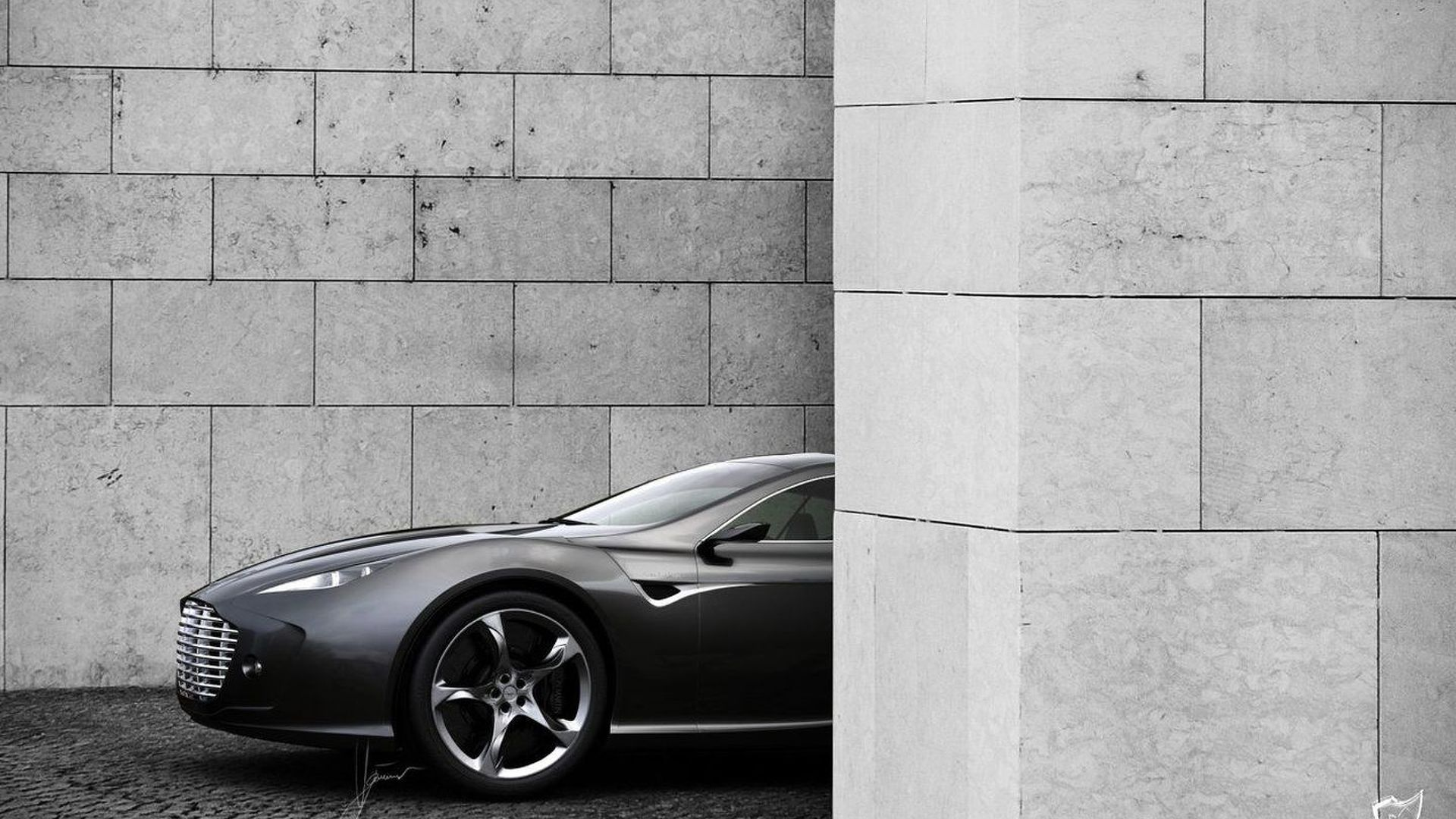 Aston Martin Gauntlet Concept Design Proposal by Ugur Sahin [Video]