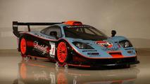 McLaren F1 GTR Long Tail in Gulf Team Livery