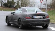 2012 Mercedes SLK63 AMG spied near the Nürburgring