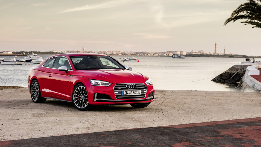2017 Audi A5 Coupe, Sportback prices start at £30,700 and £38,005 in UK