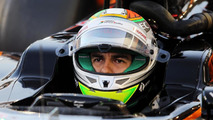 Perez expects to 'suffer' in Barcelona