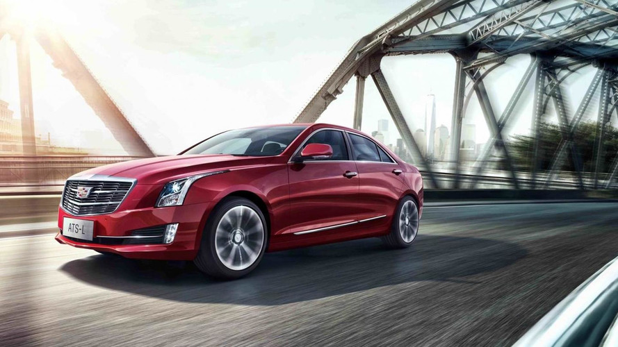 2016 Cadillac ATS-L unveiled with a new grille and an engine start/stop system