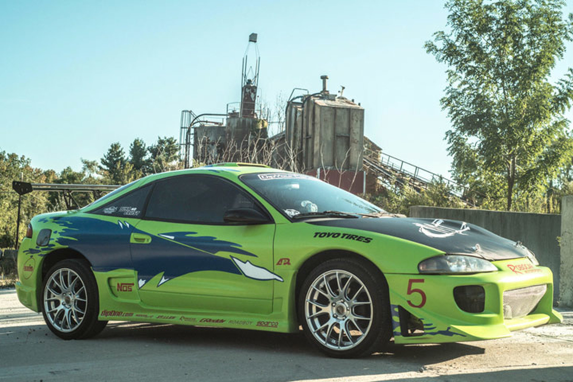 """Fan Turns Mitsubishi Eclipse into """"Fast and Furious"""" Tribute"""