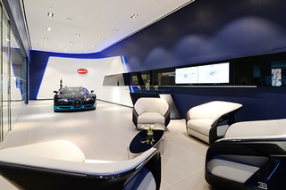 A Look Inside Bugatti's Refreshed NYC and Miami Showrooms