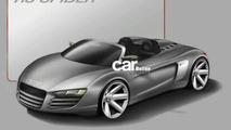 Official Audi R8 Targa Sketches Leaked